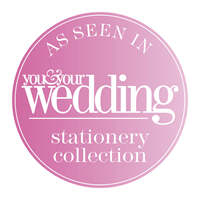 As seen in You & Your Wedding Stationery Collection