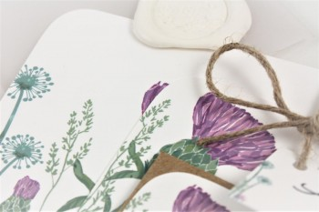 Sneak peek - new thistle wedding invitations