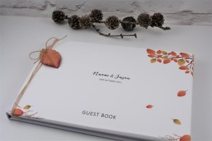 Copper Leaf Guest Book
