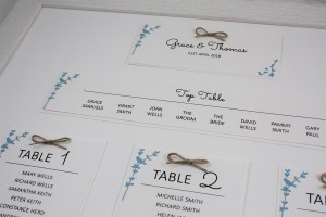 Floral Stems Table Plan