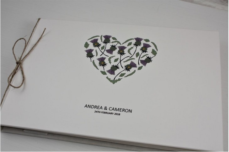 Thistle Heart Guest Book