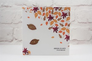Autumn Fall Wedding Invitation