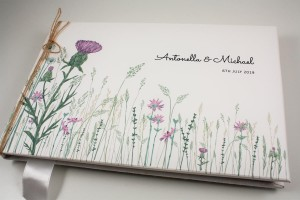 Wild Thistle Guest Book