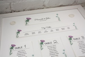Wild Thistle Table Plan