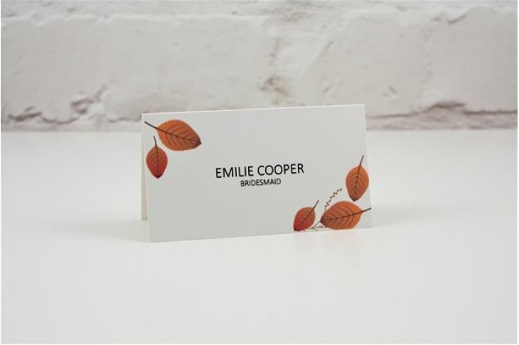 Woodside Place Card