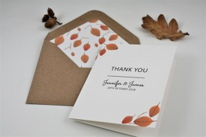 Woodside Thank You Card