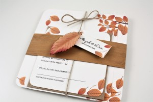 Woodside Wedding Invitation